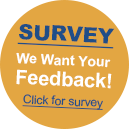 survey - we want your feedback!